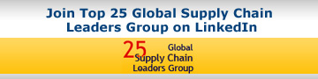 Join Top 25 Global Supply Chain Leaders Group on LinkedIn